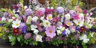Casket flowers